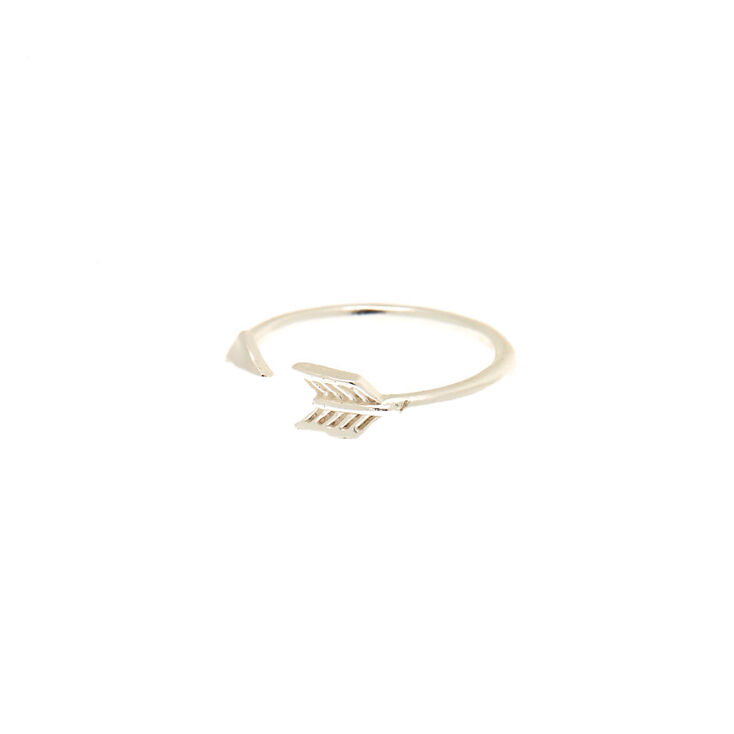 Sterling Silver Toe Ring With Arrow Design