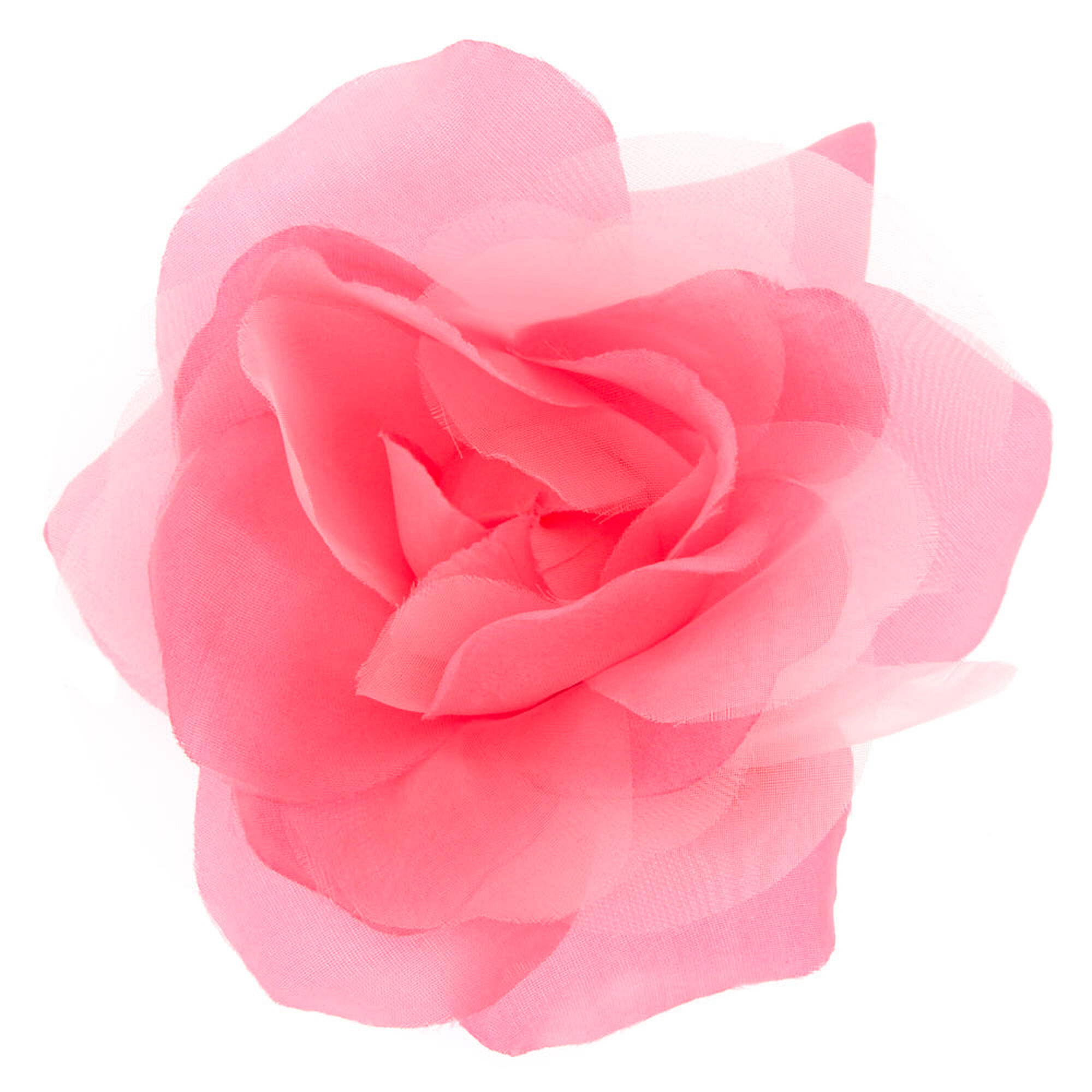 Light Up Pink Flower Barrette Clip Claires Us