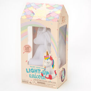 Story Magic™ Paint Your Own Light-Up Unicorn - White,