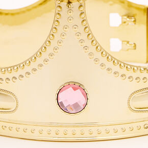 Claire's Club Crown - Gold,
