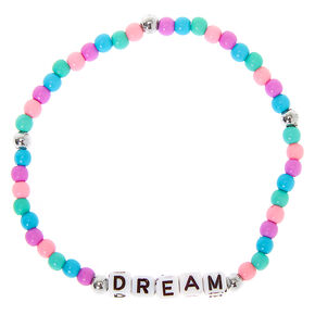 Pastel Dream Beaded Stretch Bracelet,