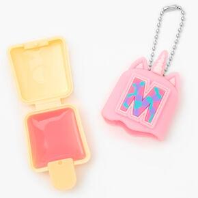 Pucker Pops® Initial Lip Gloss - Pink, M,