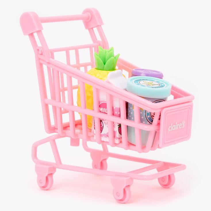 Pink Shopping Cart Lip Balm Set - 4 Pack,