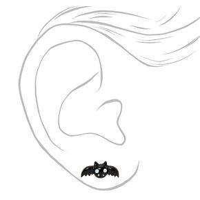 Clous d'oreilles vampire couleur argentée - Lot de 3,
