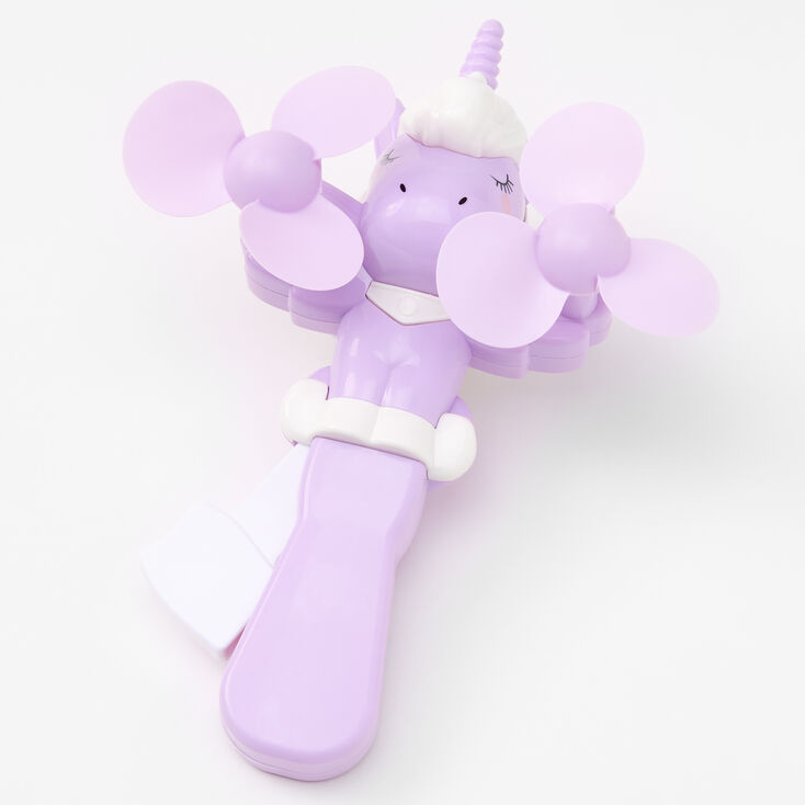Unicorn Toy Fan - Lilac,