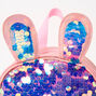 Bunny Sequin Mini Backpack - Pink,