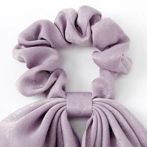 Small Hair Scrunchie Scarf - Mauve,