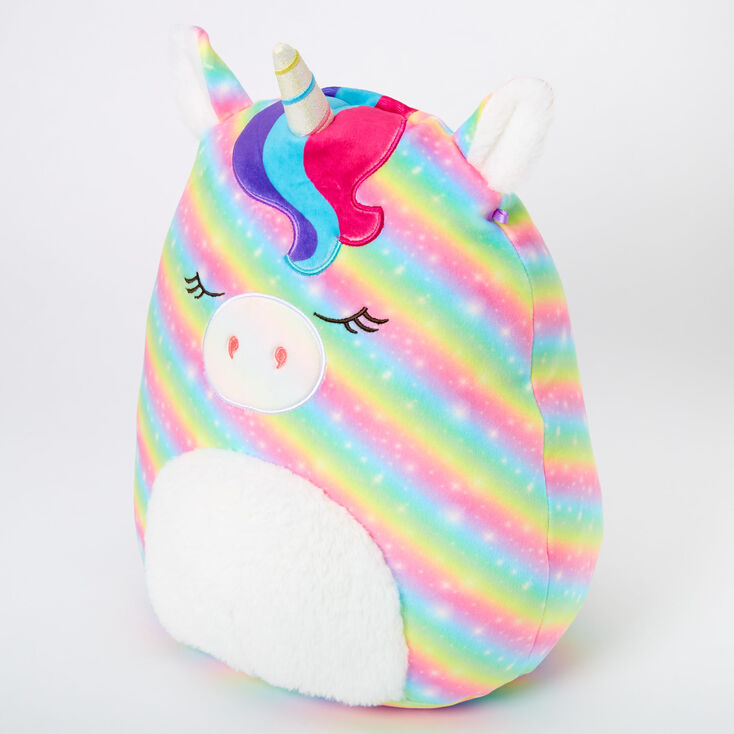 "Squishmallows™ 12"" Claire's Unicorn Plush Toy,"