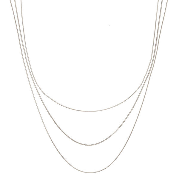 Claire's - snake multi strand necklace - 1
