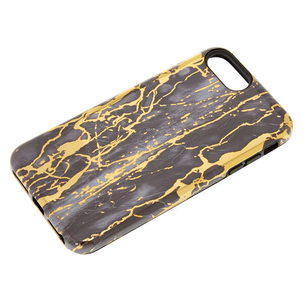 Claire's - cracked marble protective phone case - 2
