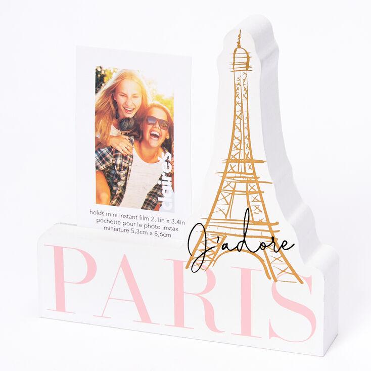 J'adore Paris Instax Photo Block - White,