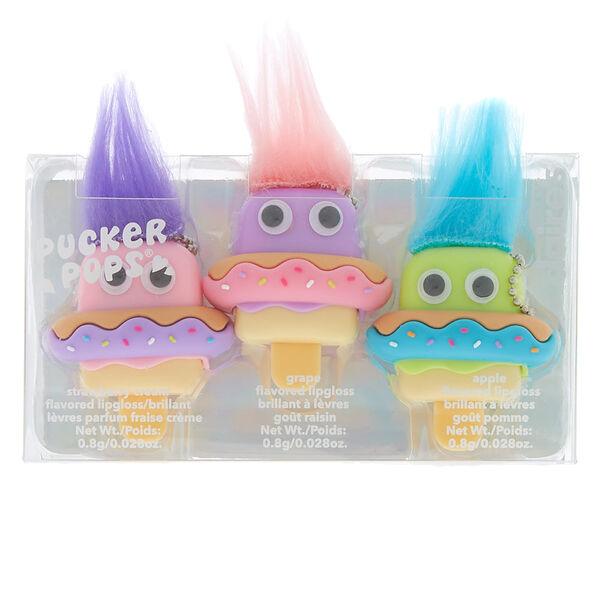 Claire's - lot de 3 gloss pucker pops bouée donut - 2
