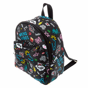 625e04425c5 Doodle Midi Backpack - Black