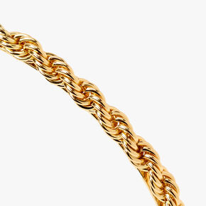 Twisted Gold Chain Headband,
