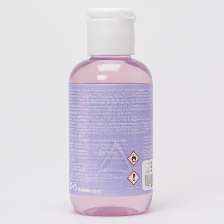 Anti Bacterial Fragranced Hand Sanitiser - Purple,