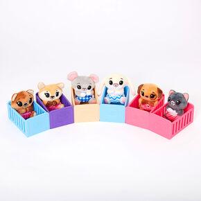 Tiny Tukkin Baby 'n' Crib Mystery Plush Set - Styles May Vary,
