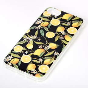 Black Lemon Zest Phone Case - Fits iPhone 6/7/8/SE,