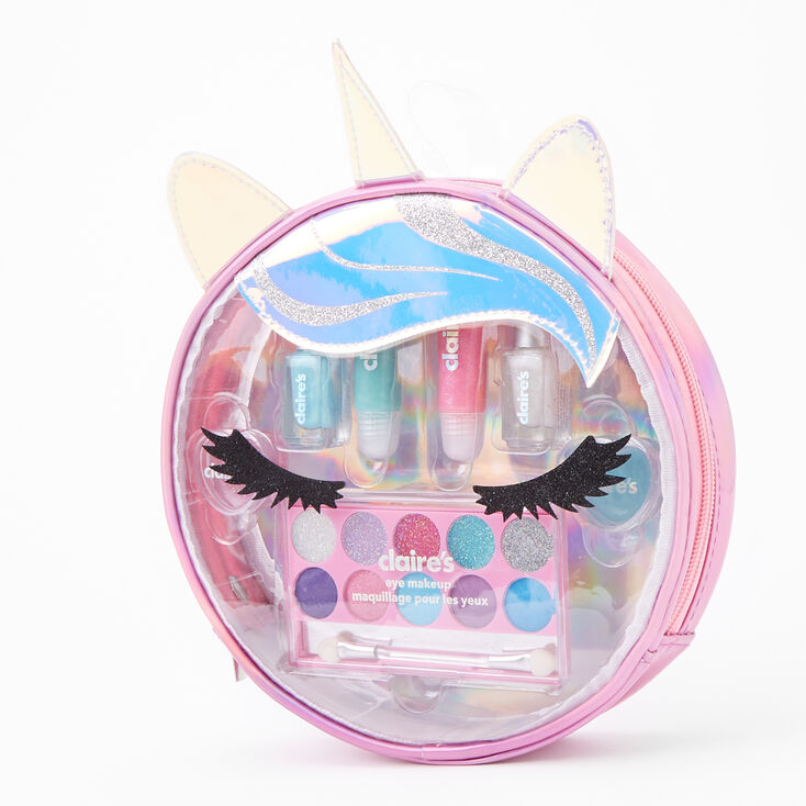 Unicorn Head Makeup Set - Pink,