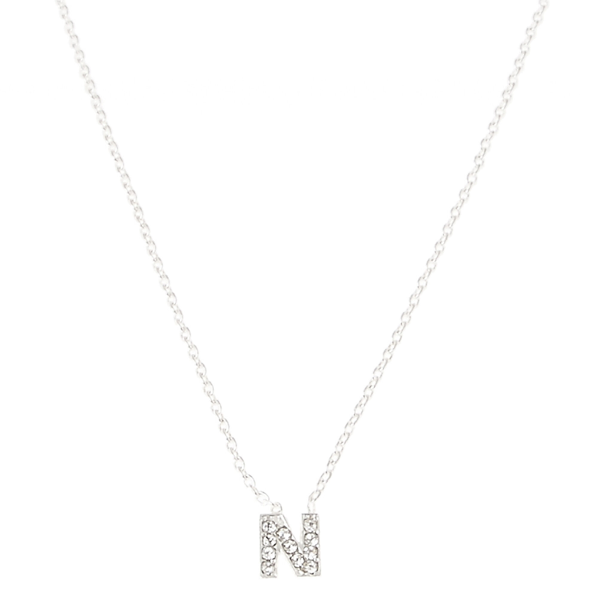 N pendant necklace claires us n pendant necklace aloadofball Gallery