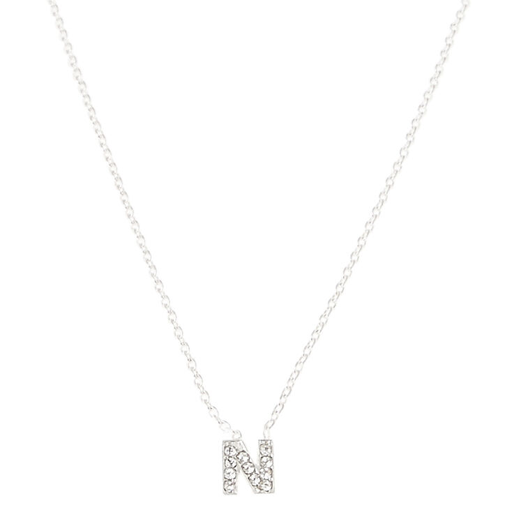 N pendant necklace claires n pendant necklace aloadofball Gallery