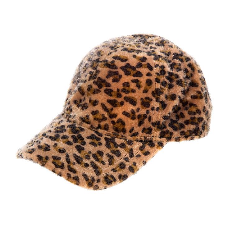 San Diego Hat Company Fuzzy Leopard Cap  03654f05ac7