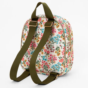 Claire's Club Floral Mini Backpack,