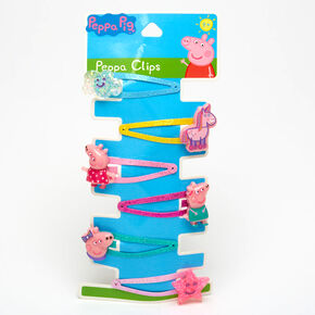 Peppa Pig™ Charm Snap Hair Clips - 6 Pack,