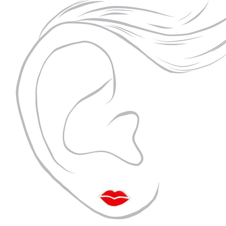 Silver Beauty Stud Earrings - 3 Pack,