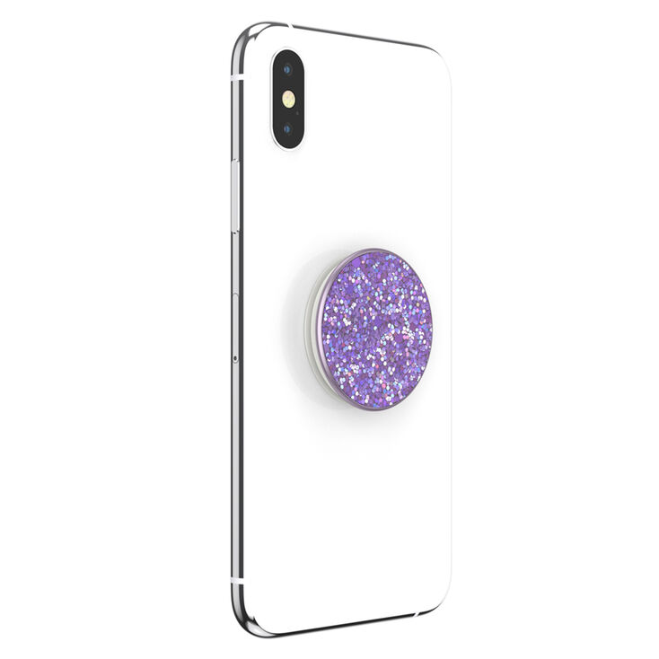 Lavender Sparkle PopSockets Swappable PopGrip,