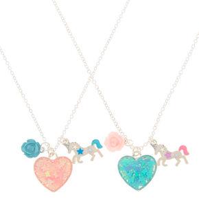 7da3df8676 Best Friends Magical Heart Pendant Necklaces - 2 Pack