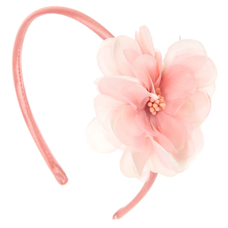 Light Pink Flower Headband  a59ef06159f