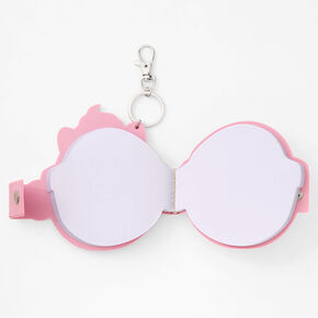 Kitty Cupcake Notepad Keychain,