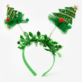 Christmas Tree Deely Bopper Headband,