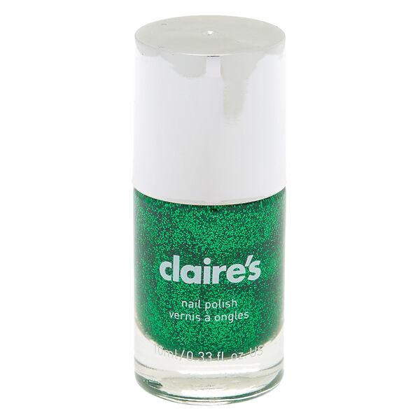 Claire's - glitter nail polish - 1