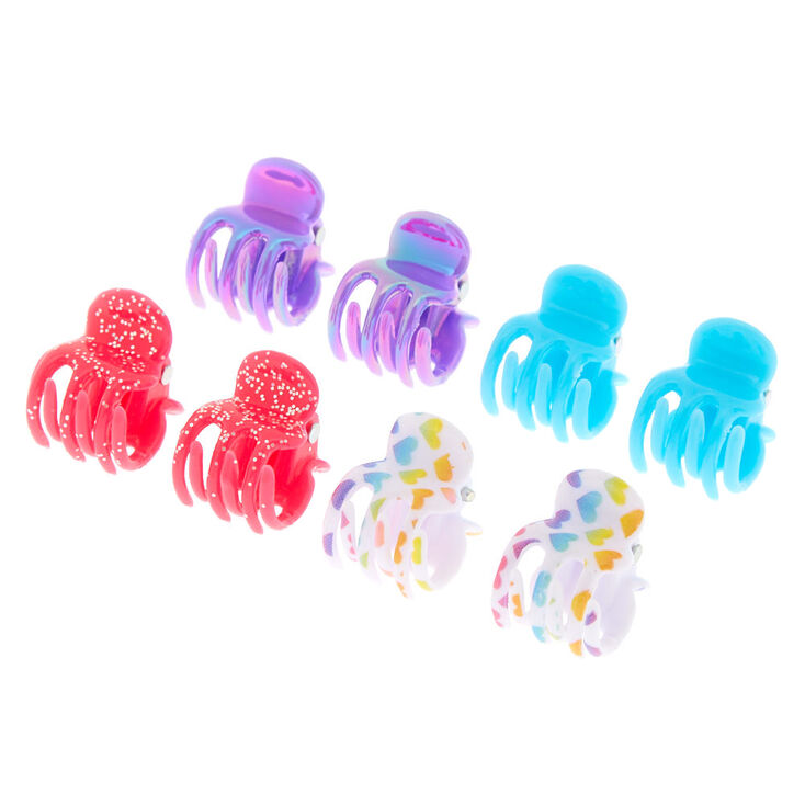 Claire's Club Hair Claws - 8 Pack,