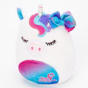 """JoJo Siwa™ Squishmallows™ 5"""" Plush Toy - White,"""