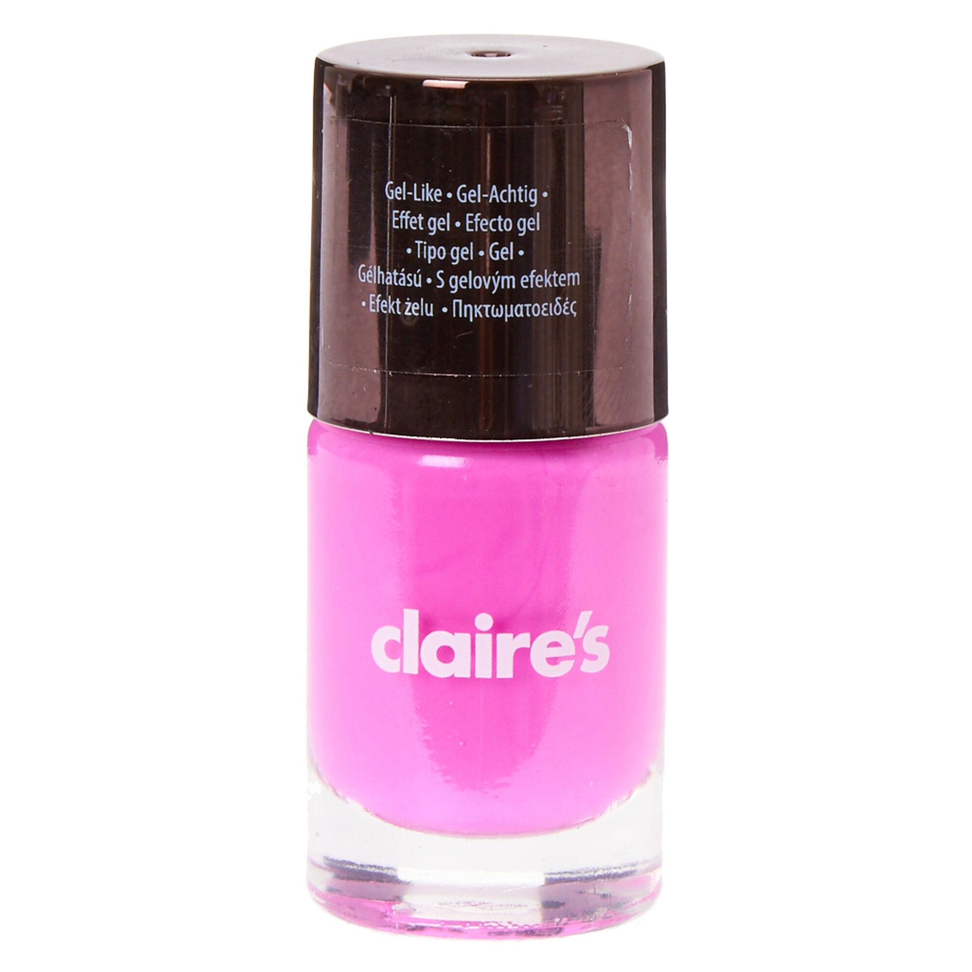 Neon Purple Gel Nail Polish | Claire\'s