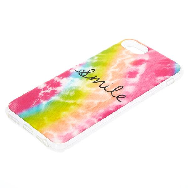 Claire's - smile tie-dye phone case - 2