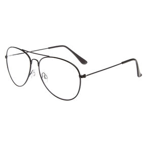 b8c2df41c9 Black Metal Aviator Frames