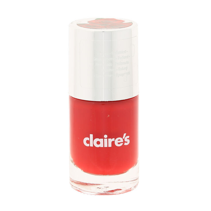 Ra Ra Red - Rose Scented Nail Polish | Claire\'s US