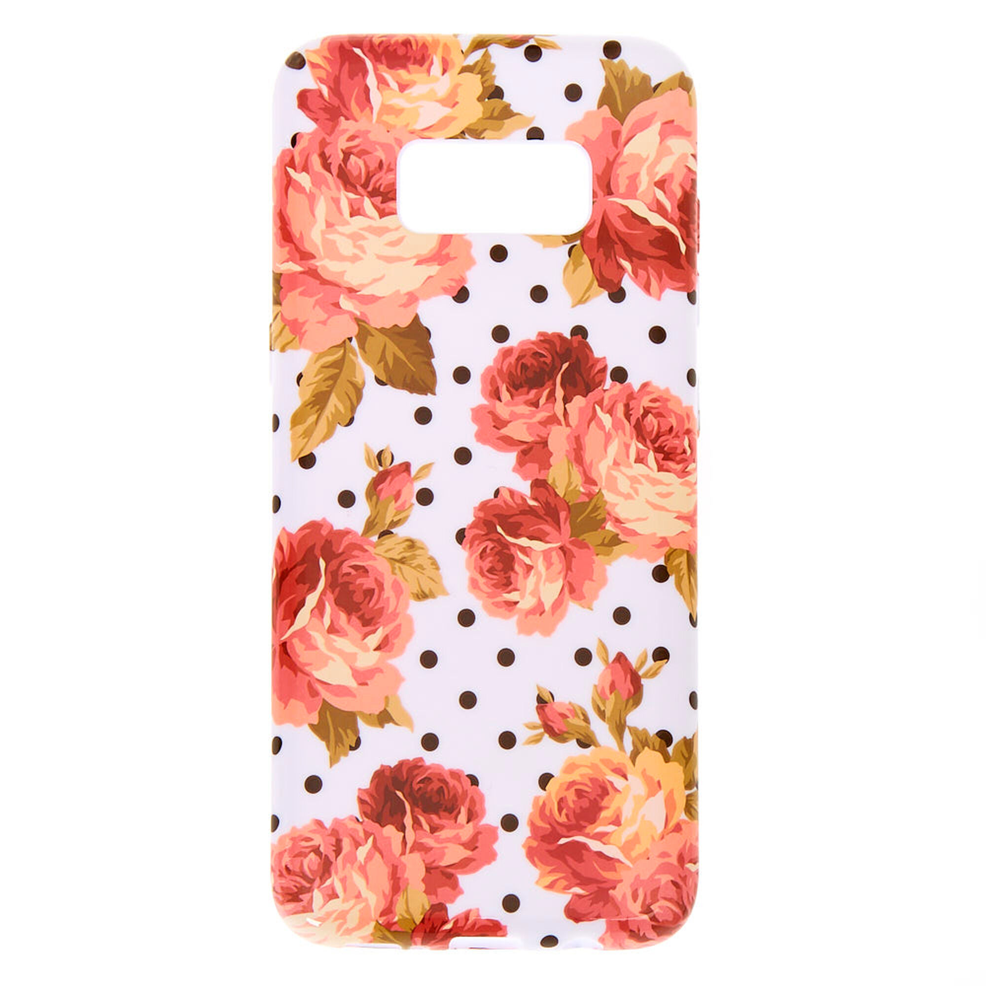 Floral Polka Dot Phone Case Fits Samsung Galaxy S8 Claire S Us