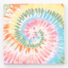 Tie Dye Swirl Sticky Notepad,