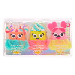 Pucker Pops Tutu Sweets Lip Gloss Set - 3 Pack,