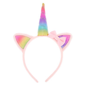 Claire's Club Caticorn Headband - Pink,