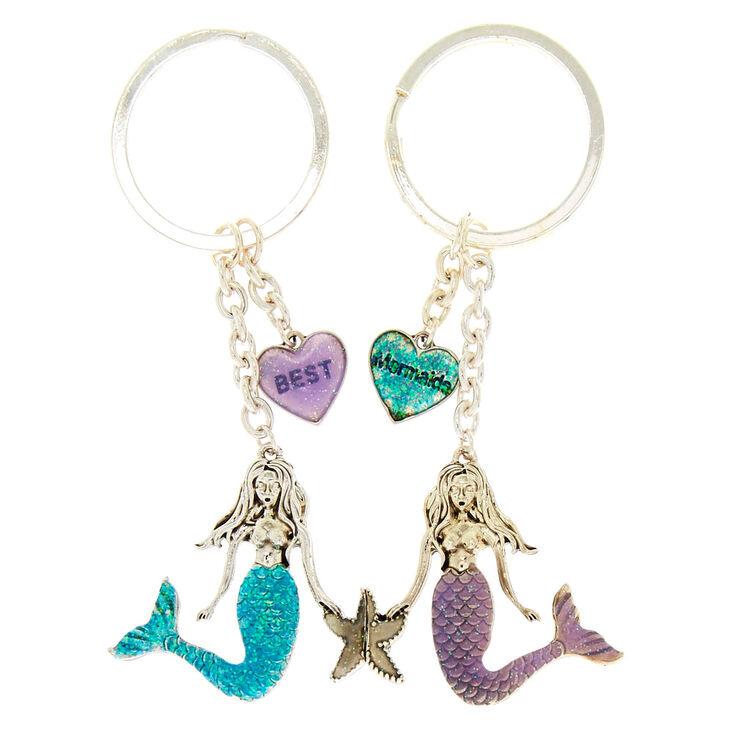 Best Mermaids Keychains - 2 Pack,