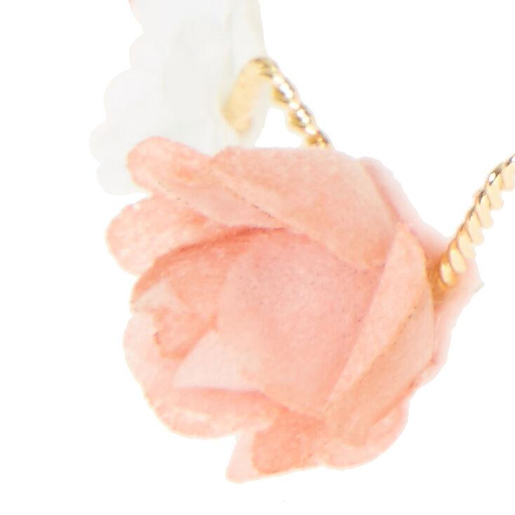 Gold Zig-Zag Flower Crown,
