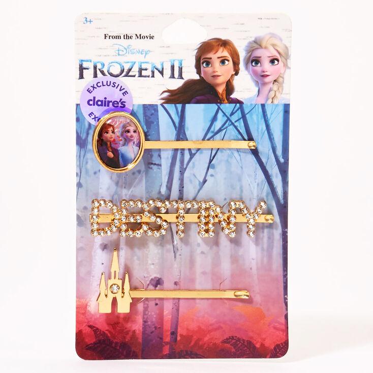 Épingles plates Anna La Reine des Neiges2 ©Disney - Lot de 3,