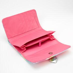 Sequin Tie-Dye Wallet - Rainbow,