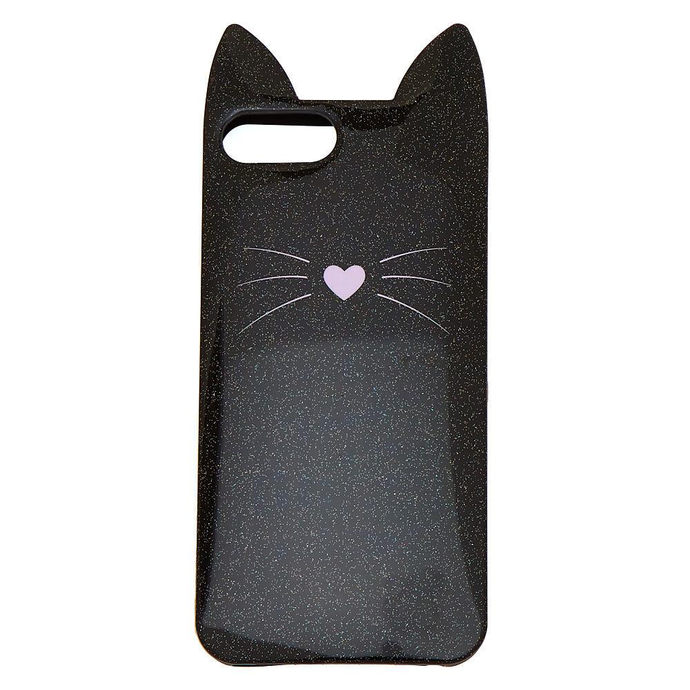 coque iphone 8 black cat