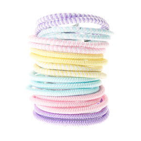 Claire's Club Mini Pastel Hair Bobbles - 18 Pack,